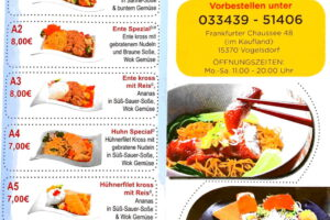 1 günstige asiatische Küche leckere japanische Sushi Bar feine Mittagessen