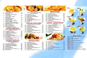 Asia Imbiss Königs Wusterhaven 2 leckere asiatische Essen günstige Mittagessen feine japanische Sushi