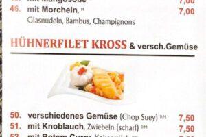 Asia Imbiss Zossen leckere asiatische Essen günstige Mittagessen feine japanische Sushi